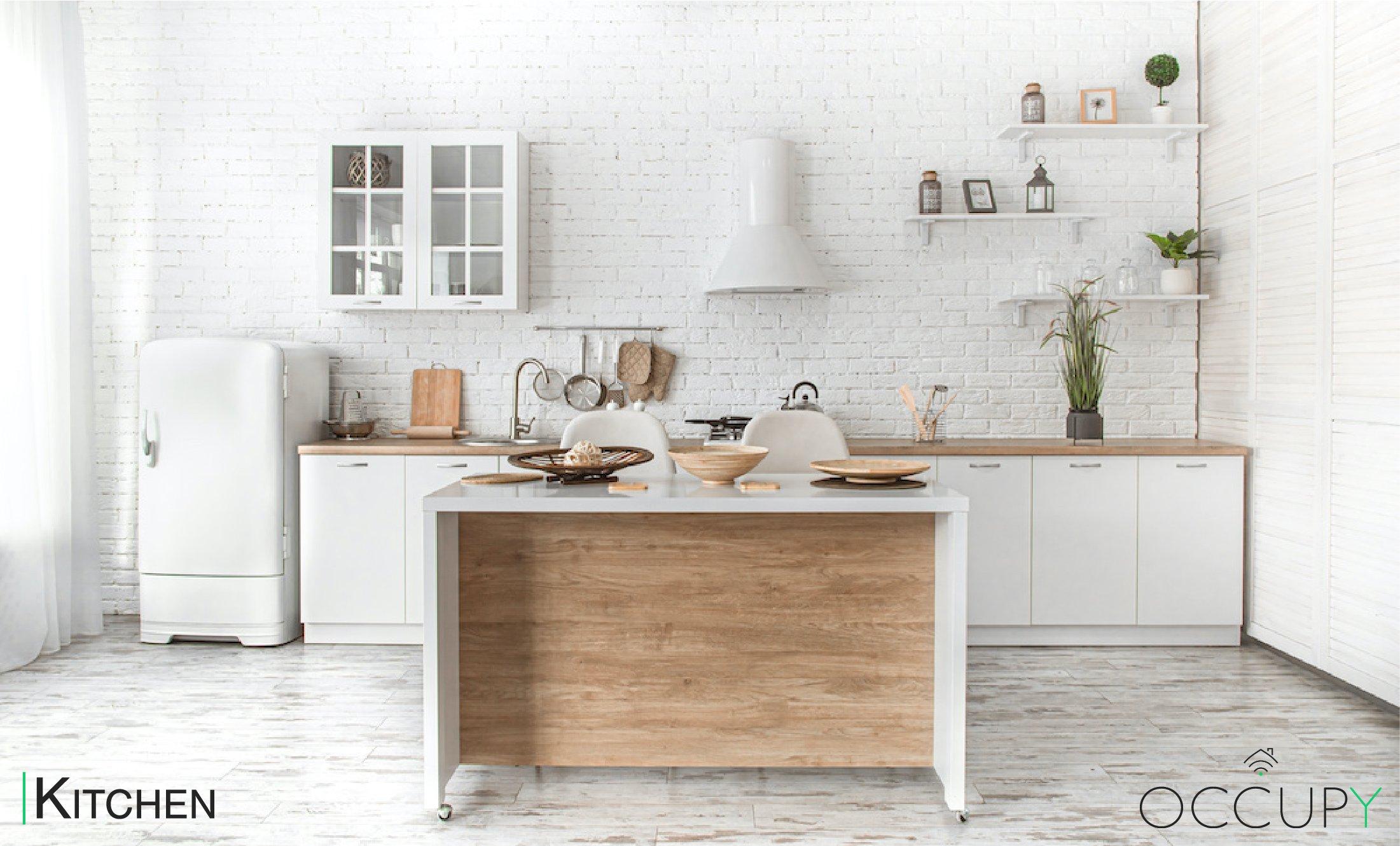 White Kitchen Tour